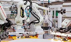 Robotic system for luminaire production